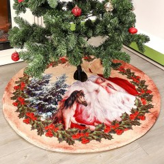 """Спідниця під ялинку """"Санта"""" 120 см"""