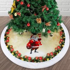 """Спідниця під ялинку """"Санта з мішком"""" 98 см"""