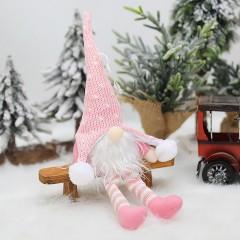 """Іграшка-підвіска з підсвічуванням """"Гном"""" рожевий 35 см"""