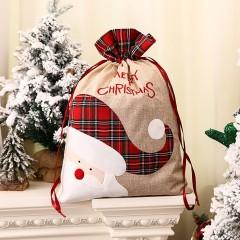 """Мешок для подарков """"Санта"""" 55 см"""