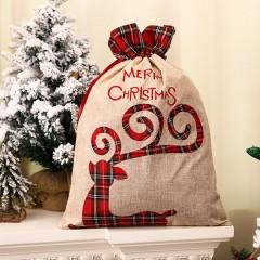 """Мешок для подарков """"Олень"""" 55 см"""