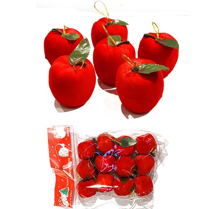 """Набор """"Яблочки красные"""" 3 см"""