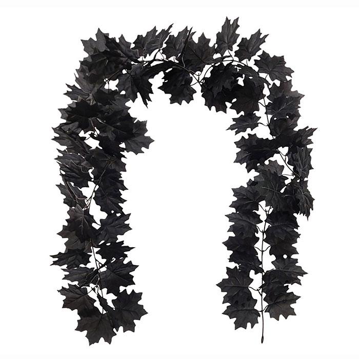 """Лиана """"Клен"""" черный 180 см"""