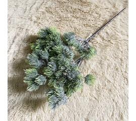 Ветка сосна с напылением 33 см