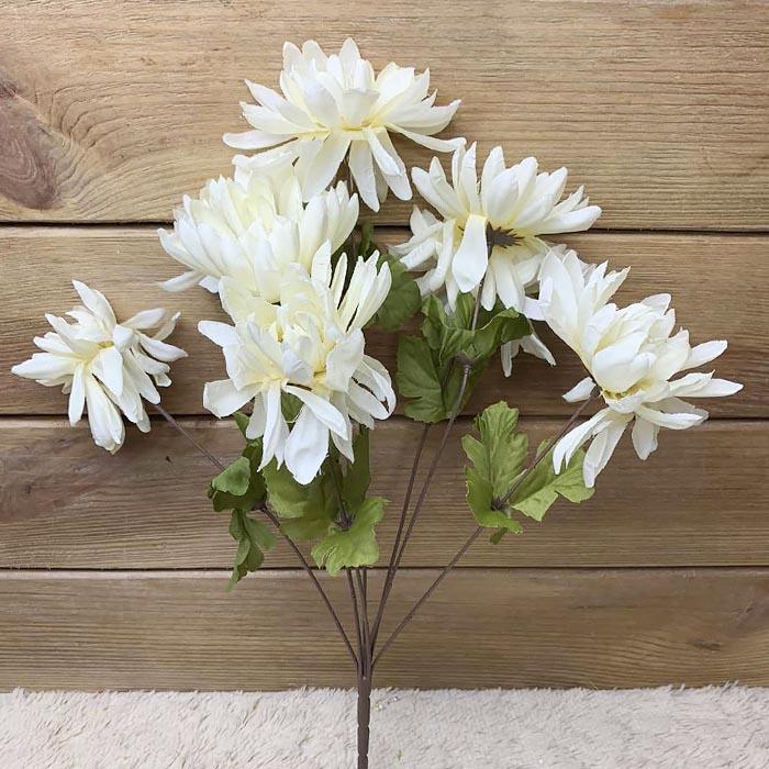 Букет хризантема кремовая