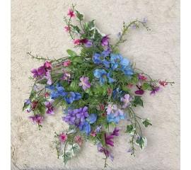 Венок весенний голубой