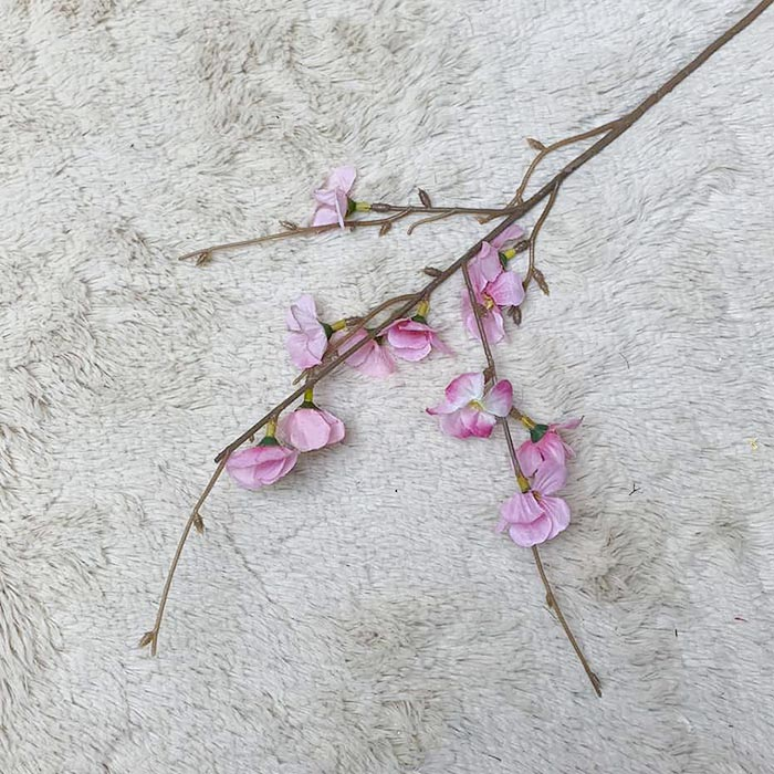 Ветка яблоневый цвет 55 см