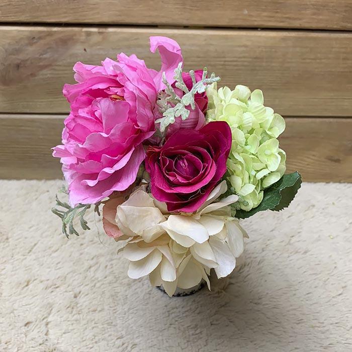 Букетик - пион, гортензия, роза