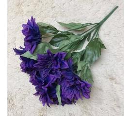 Букет георгина фиолет