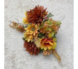 Букетик хризантемы, гортензия