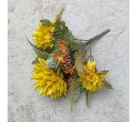 Букетик хризантемы