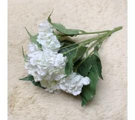 Букет гортензия кустовая белая