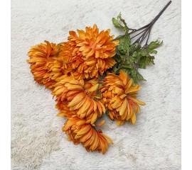 Букет хризантемы оранжевые