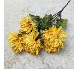 Букет хризантемы желтые