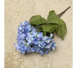 Букет гортензия голубая