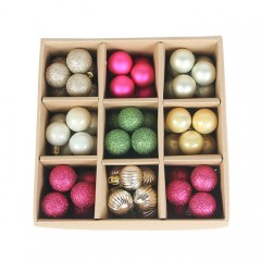 Набір ялинкових кульок 3 см (99 шт) - 000106Е