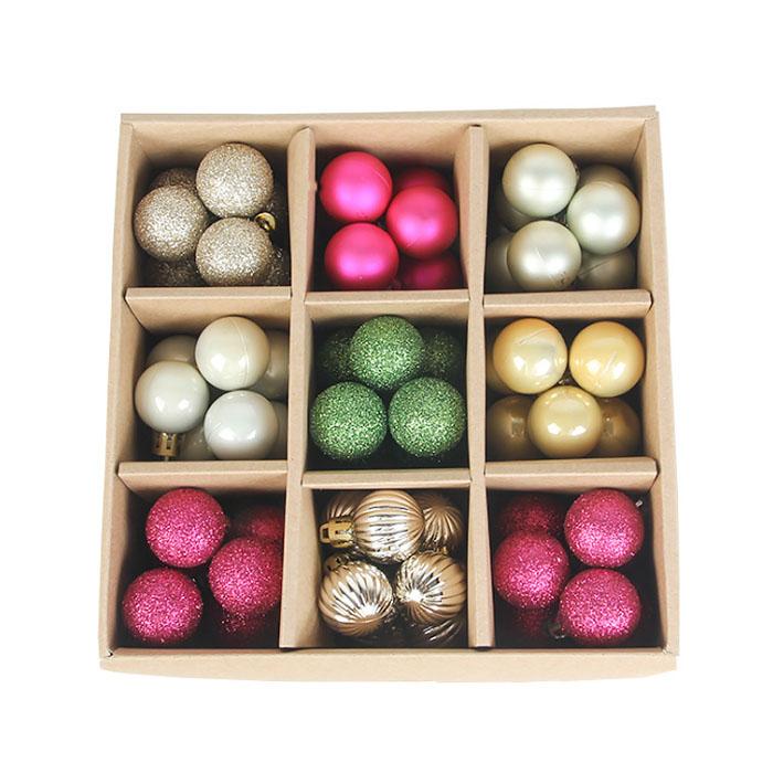 Набор елочных шариков 3 см (99 шт) - 000106Е