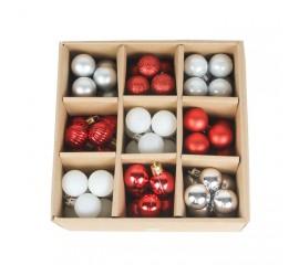 Набор елочных шариков 3 см (99 шт) - 000106F