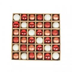 Набір ялинкових кульок 3 см (36 шт) - 000104C