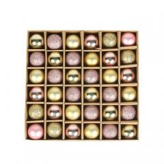 Набір ялинкових кульок 3 см (36 шт) - 000104D