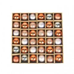 Набір ялинкових кульок 3 см (36 шт) - 000104Е