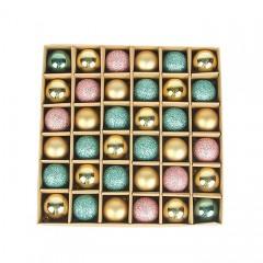 Набір ялинкових кульок 3 см (36 шт) - 000104F