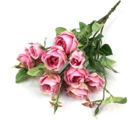 "Букет розочки ""Кантри"" 44 см - розовые"