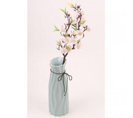 Ветка сакура 56 см нежно-розовая