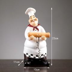 """Фігурка """"Кухар зі штопором"""" 23 см"""