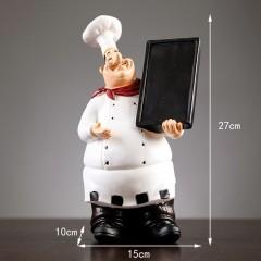 """Фігурка """"Кухар з дошкою"""" 27,5 см"""