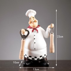 """Фігурка """"Кухар з відкривачкою"""" 23 см"""