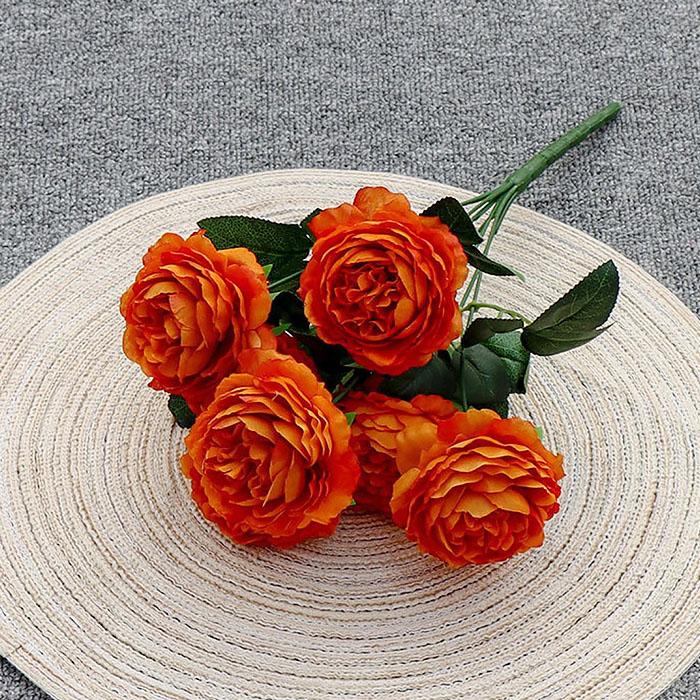 """Букет роз """"Анна"""" 40 см - оранжевый"""
