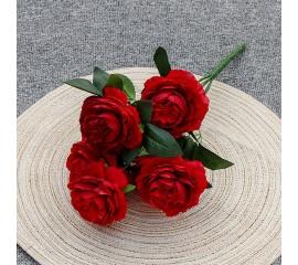 """Букет роз """"Анна"""" 40 см - красный"""
