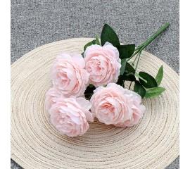 """Букет роз """"Анна"""" 40 см - нежно-розовый"""