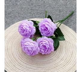 """Букет роз """"Анна"""" 40 см - сиреневый"""