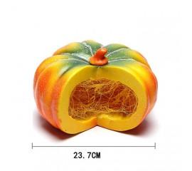 Декоративная реалистичная тыква 15,8 см