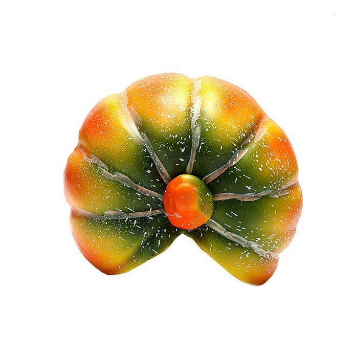 Декоративная реалистичная тыква 13,8 см