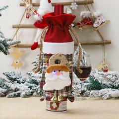 "Сумка для бутылки с подсветкой ""Санта"""