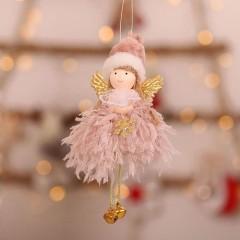 """Подвеска """"Куколка с крыльями"""" розовая"""