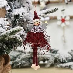 Подвеска куколка бордо