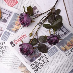 "Гілка троянда ""Вінтаж"" - фіолет"