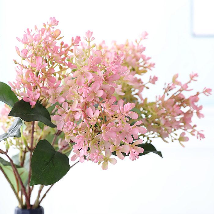 Веточка сирени розовая
