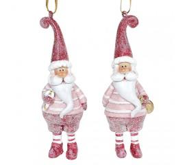 """Подвеска """"Санта в красном"""""""