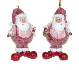 """Подвеска """"Санта в красной шапке"""""""
