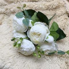 """Букет роза """"Остина"""" белый"""