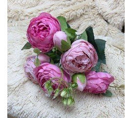 """Букет роза """"Остина"""" розовый микс"""