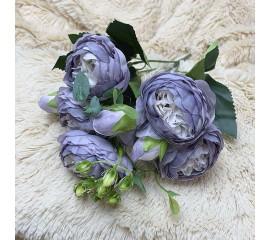 "Букет роза ""Остина"" сиреневый"