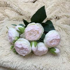 """Букет роза """"Остина"""" нежно-розовый"""
