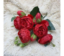 """Букет роза """"Остина"""" красный"""