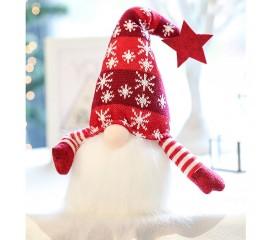 """Новогодняя игрушка с подсветкой """"Гном"""" в красной шапке"""